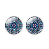 Mandala Buddhism Zen Stud Earring - Pretty Little Owls