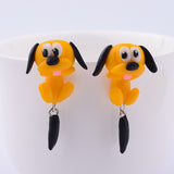 Anime Dog Stud Earrings - Pretty Little Owls