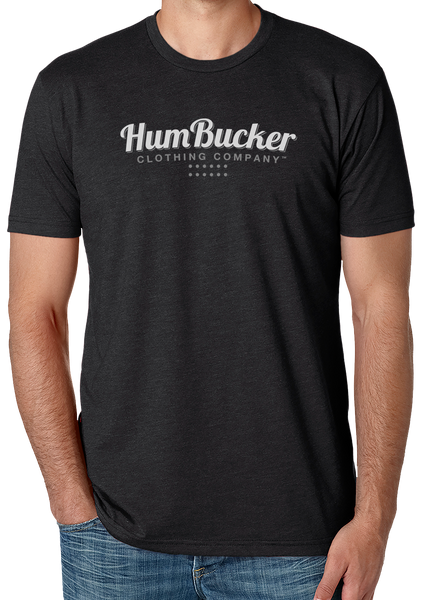 *HumBucker Clothing Company Logo on Charcoal