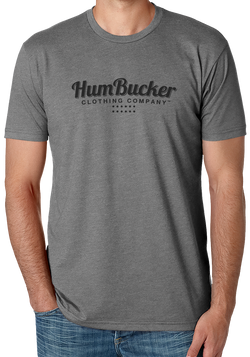 HumBucker Clothing Company Logo on Gray