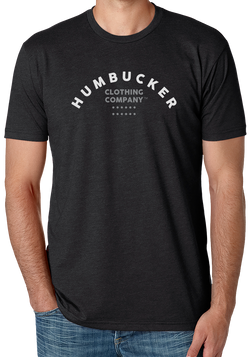 *HumBucker Clothing Company Alternate Logo on Charcoal