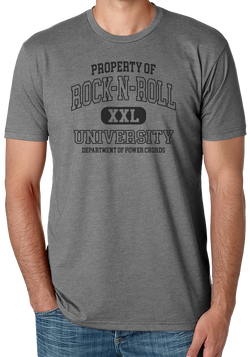 Rock N Roll University on Gray