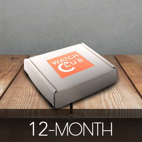 12 Month Watch Box Subscription