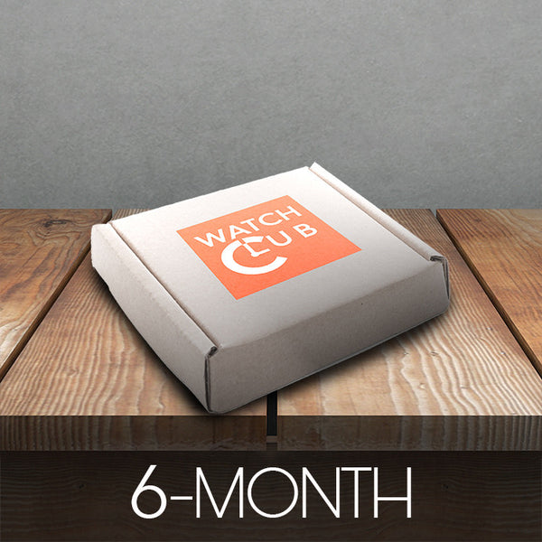 6 Month Watch Box Subscription