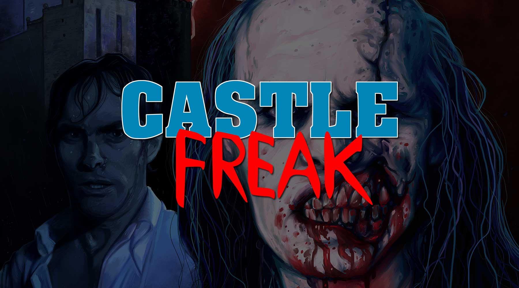 Officially Licensed CASTLE FREAK Enamel Pins, T-Shirts & Art Prints Now Available