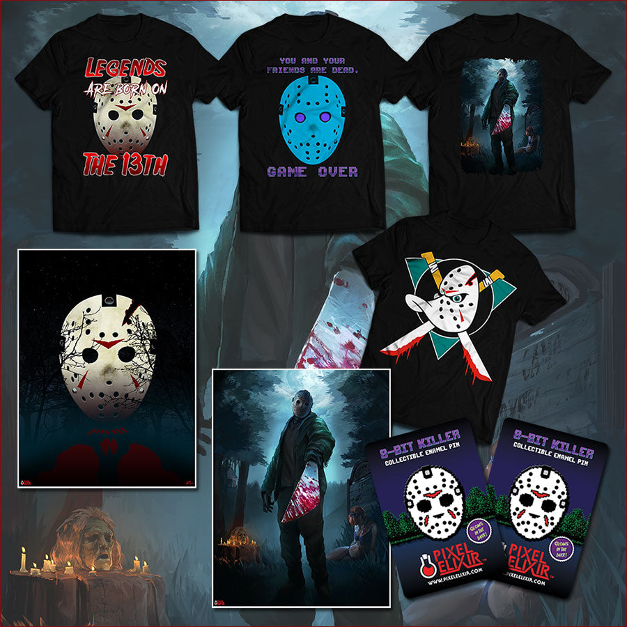 Friday the 13th Prize Pack