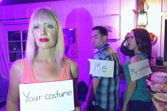 A hilarious and oh-so-trendy Internet meme Halloween costume.