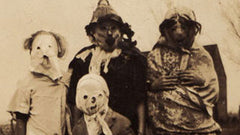 Halloween costumes in the old days were pure nightmare fuel.