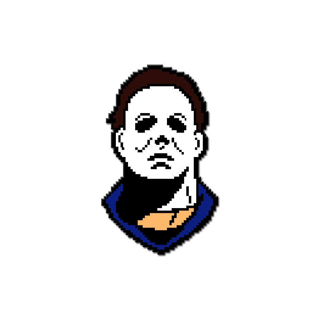 8-Bit Killer - The Boogeyman Enamel Pin - Dystopian Designs