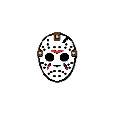8-Bit Killer Part IV Hard Enamel Pin - Dystopian Designs