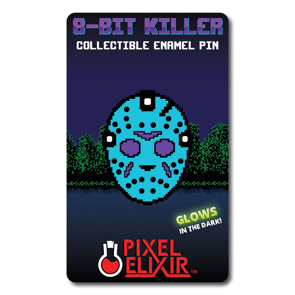 8-Bit Killer Part IV Enamel Pin (Set of Two) - Dystopian Designs
