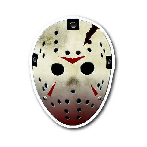 "Friday the 13th Jason Modern 3""x4"" Sticker"