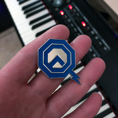Alpha Quadrant Enamel Pin - Dystopian Designs
