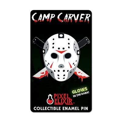 Camp Carver Hard Enamel Pin - Dystopian Designs