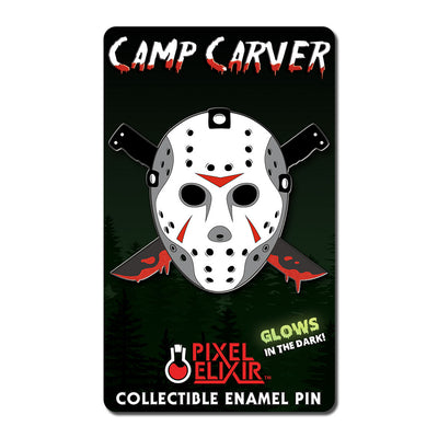 Camp Carver Enamel Pin - Dystopian Designs
