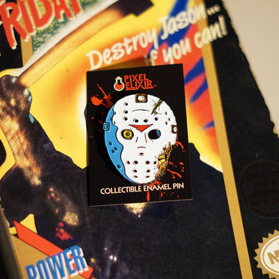 Camp Carver Part VII Enamel Pin (Seconds) - Dystopian Designs
