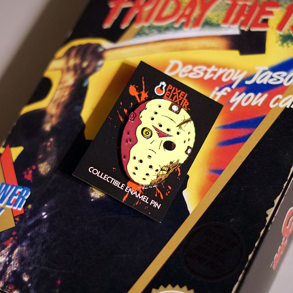 Friday the 13th Jason Voorhees Part VII The New Blood Enamel Pin Set