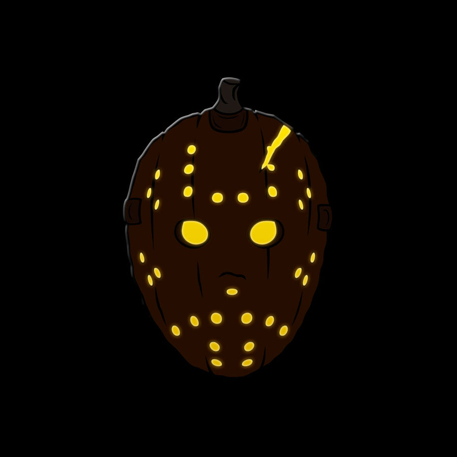 Camp-o-Lantern Enamel Pin