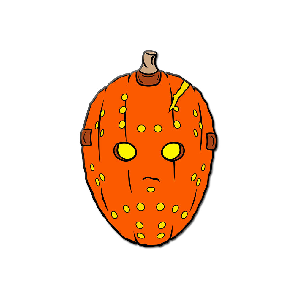 Camp-o-Lantern Enamel Pin - Dystopian Designs
