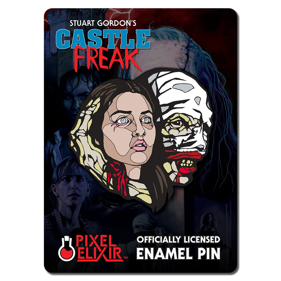 Castle Freak & His Prey Enamel Pin - Dystopian Designs