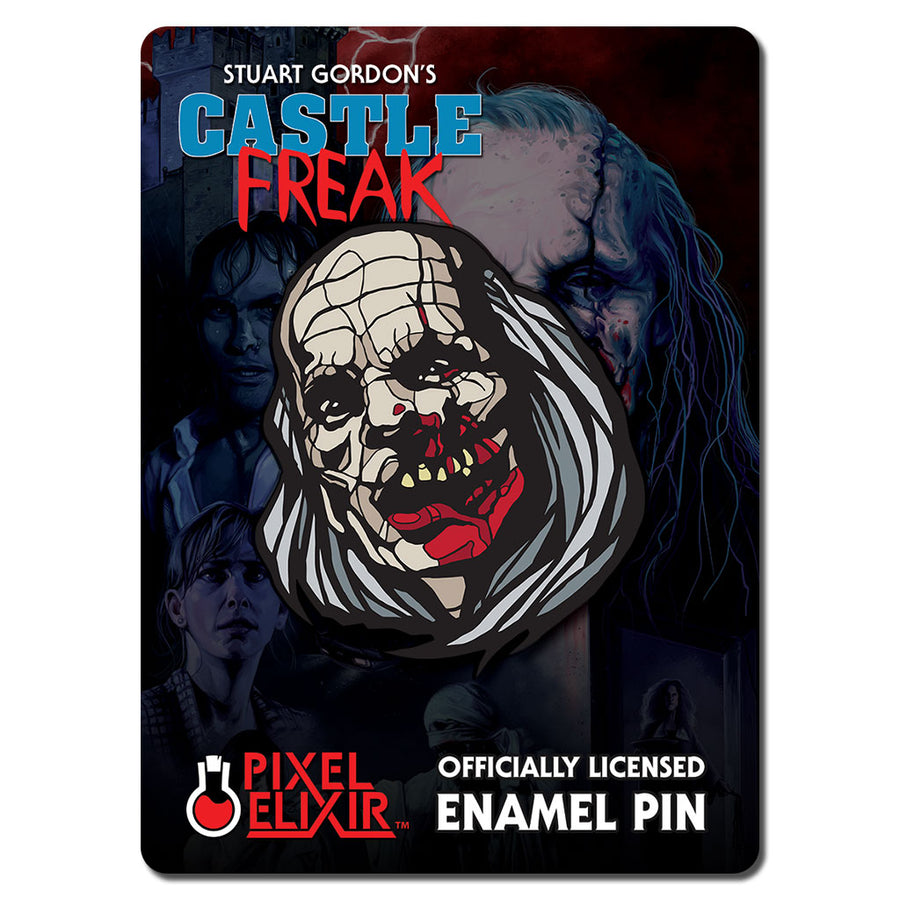 Castle Freak Officially Licensed Horror Enamel Pin