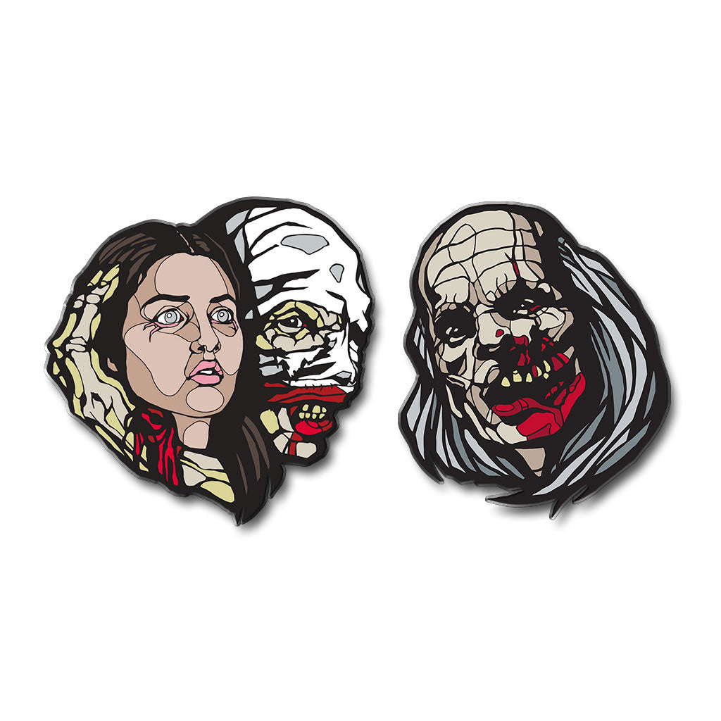 Castle Freak Enamel Pin Set - Dystopian Designs