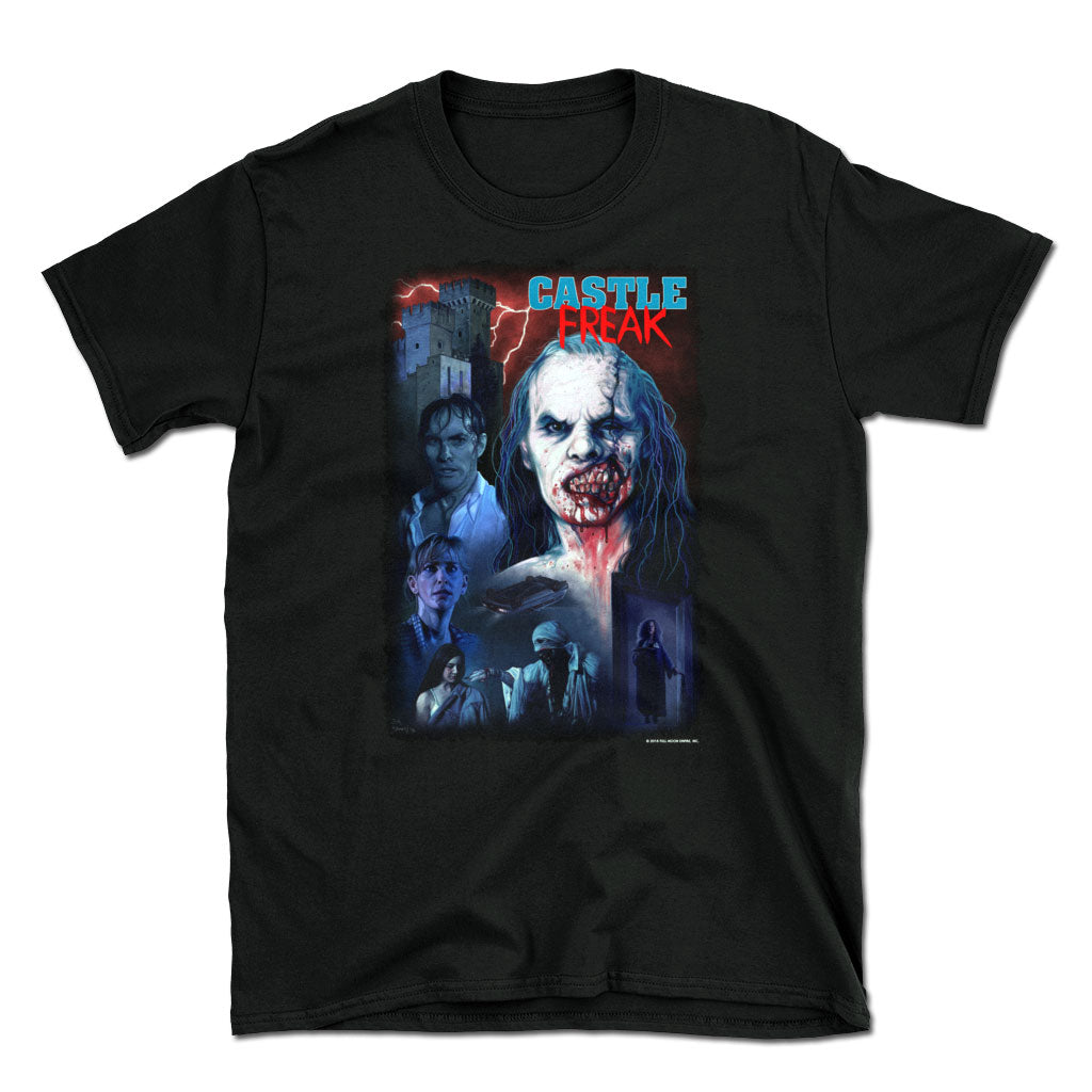 Castle Freak Officially Licensed Short Sleeve Horror T-Shirt
