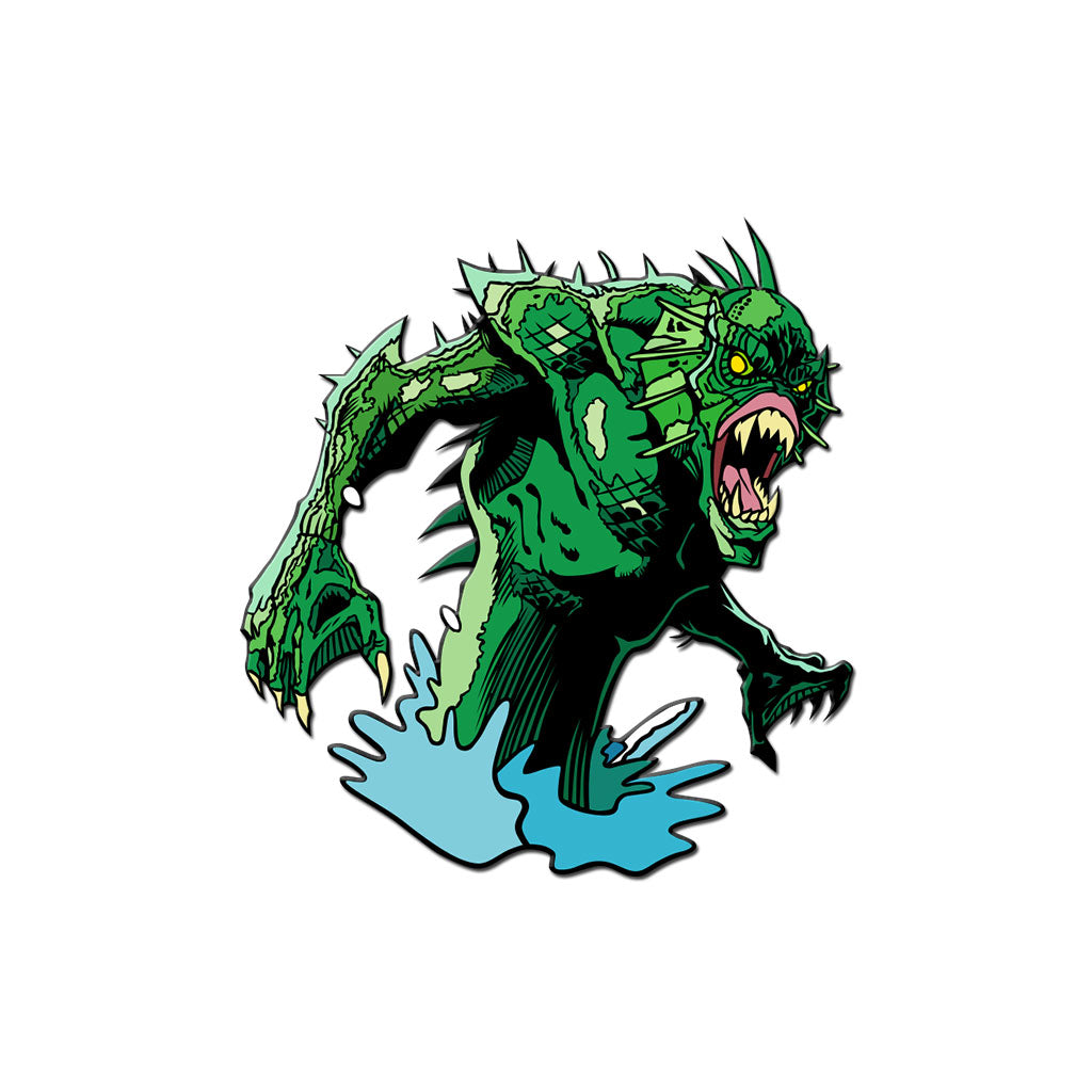 Classic Monsters Lurker of the Lake Enamel Pin - Dystopian Designs