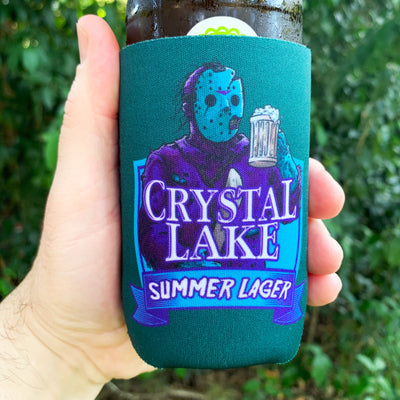 Crystal Lake Summer Lager Can Cooler