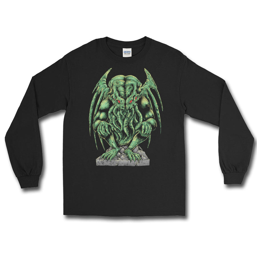 Cthulhu Long Sleeve T-Shirt - Dystopian Designs