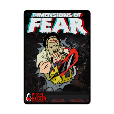 Dimensions of Fear - Texas Enamel Pin (Set of 3) - Dystopian Designs