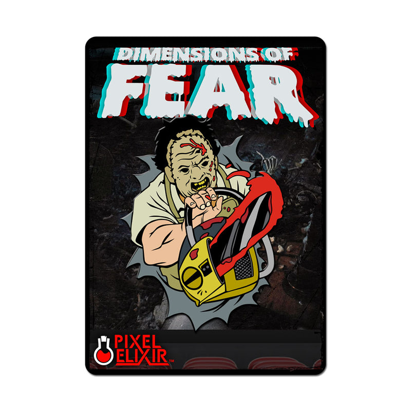 "Dimensions of Fear - ""Texas"" Enamel Pin (Set of 3)"