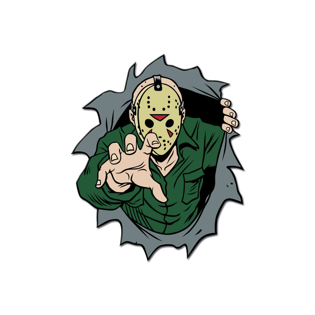 Dimensions of Fear - Crystal Lake Enamel Pin