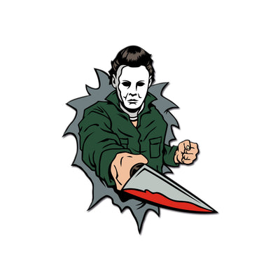 Dimensions of Fear - Haddonfield Enamel Pin (Set of 3) - Dystopian Designs
