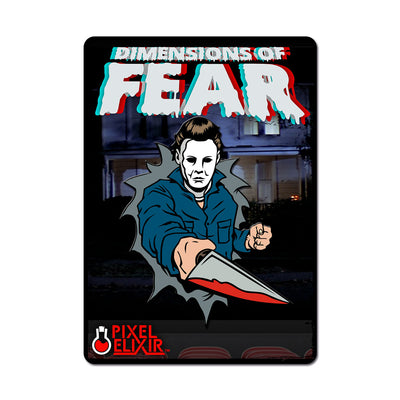 Dimensions of Fear - Haddonfield Enamel Pin (Set of 3)