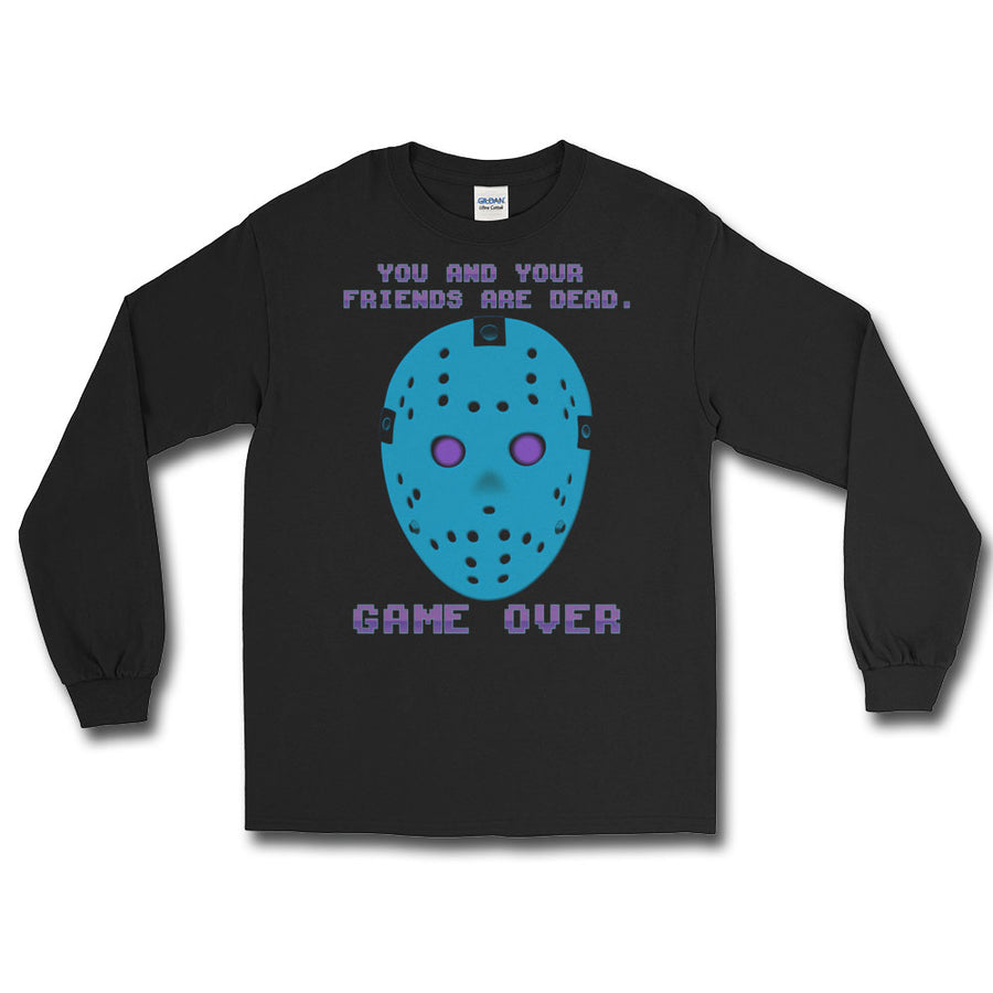 Game Over Retro Long Sleeve T-Shirt - Dystopian Designs
