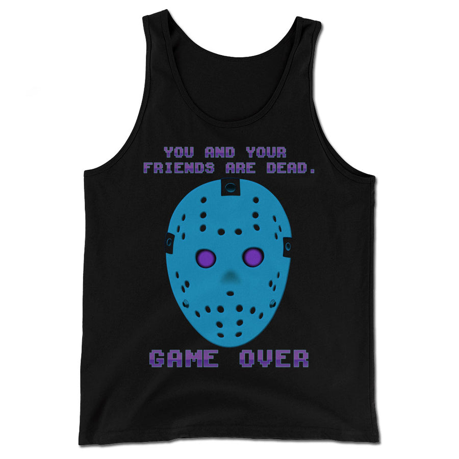 Game Over Retro Tank Top Shirt - Dystopian Designs