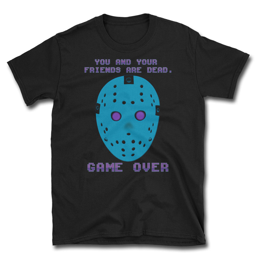 Game Over Retro T-Shirt - Dystopian Designs