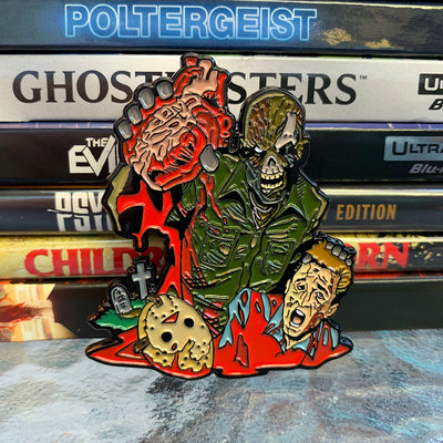 Graveyard Ghouls - Back From the Dead Enamel Pin - Dystopian Designs