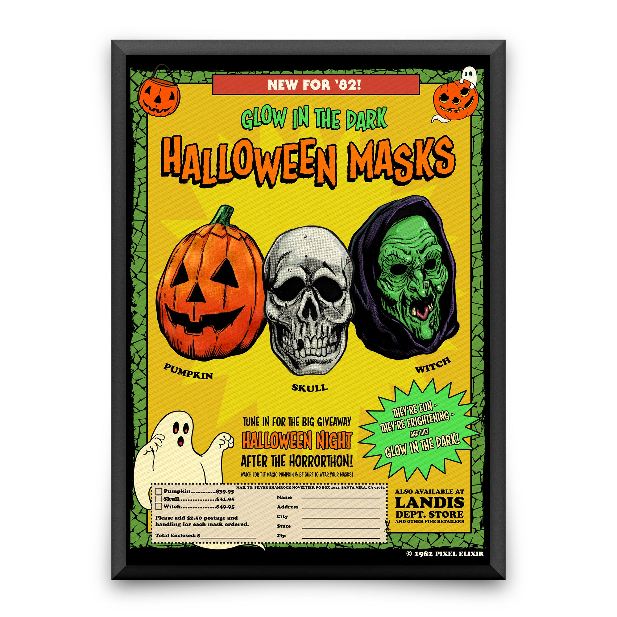 Happy, Happy Halloween Art Print