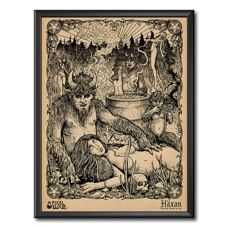 "Häxan ""The Devil's Minions"" Art Print - Dystopian Designs"
