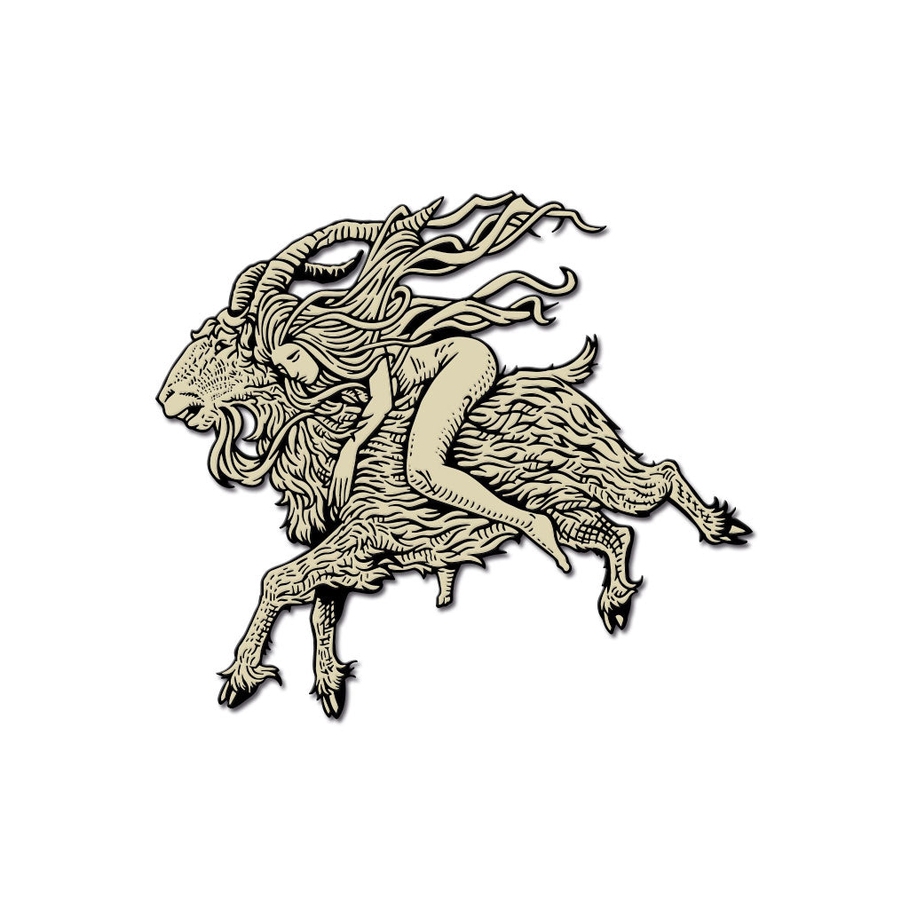 "Häxan ""Flying"" Hard Enamel Pin"