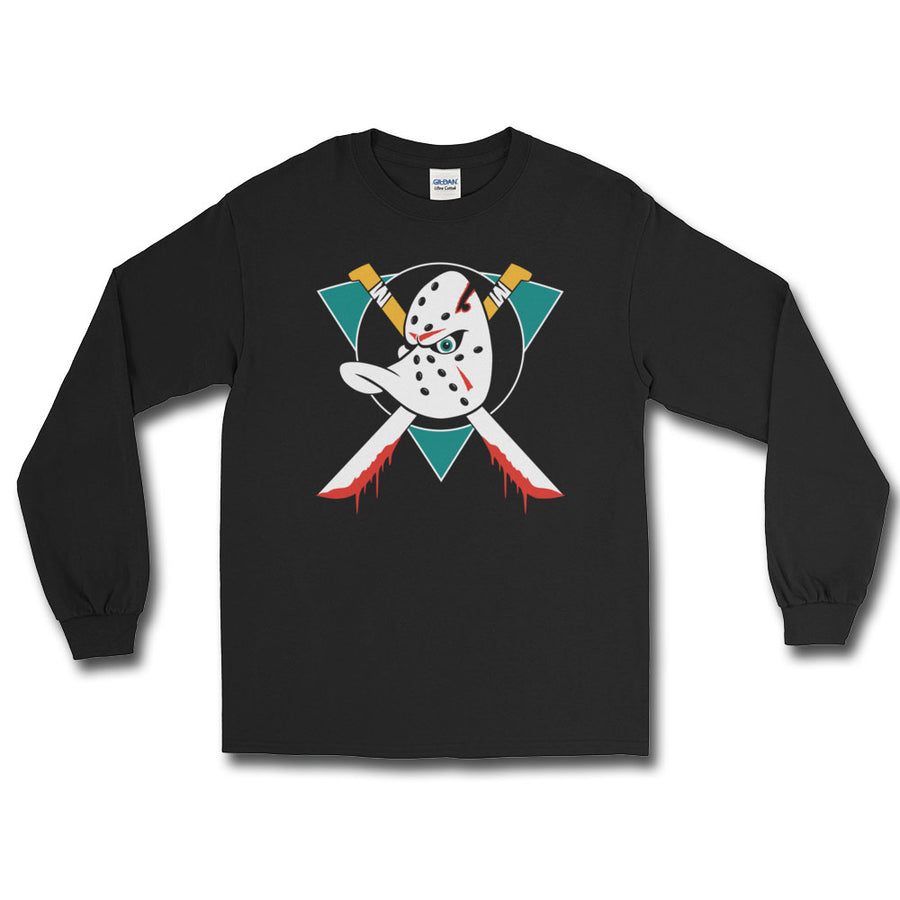 Hockey Ghoulie Long Sleeve Shirt - Dystopian Designs