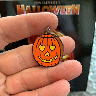 I Love Halloween Enamel Pin - Dystopian Designs