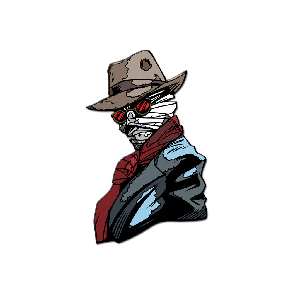 Invisible Man Enamel Pin