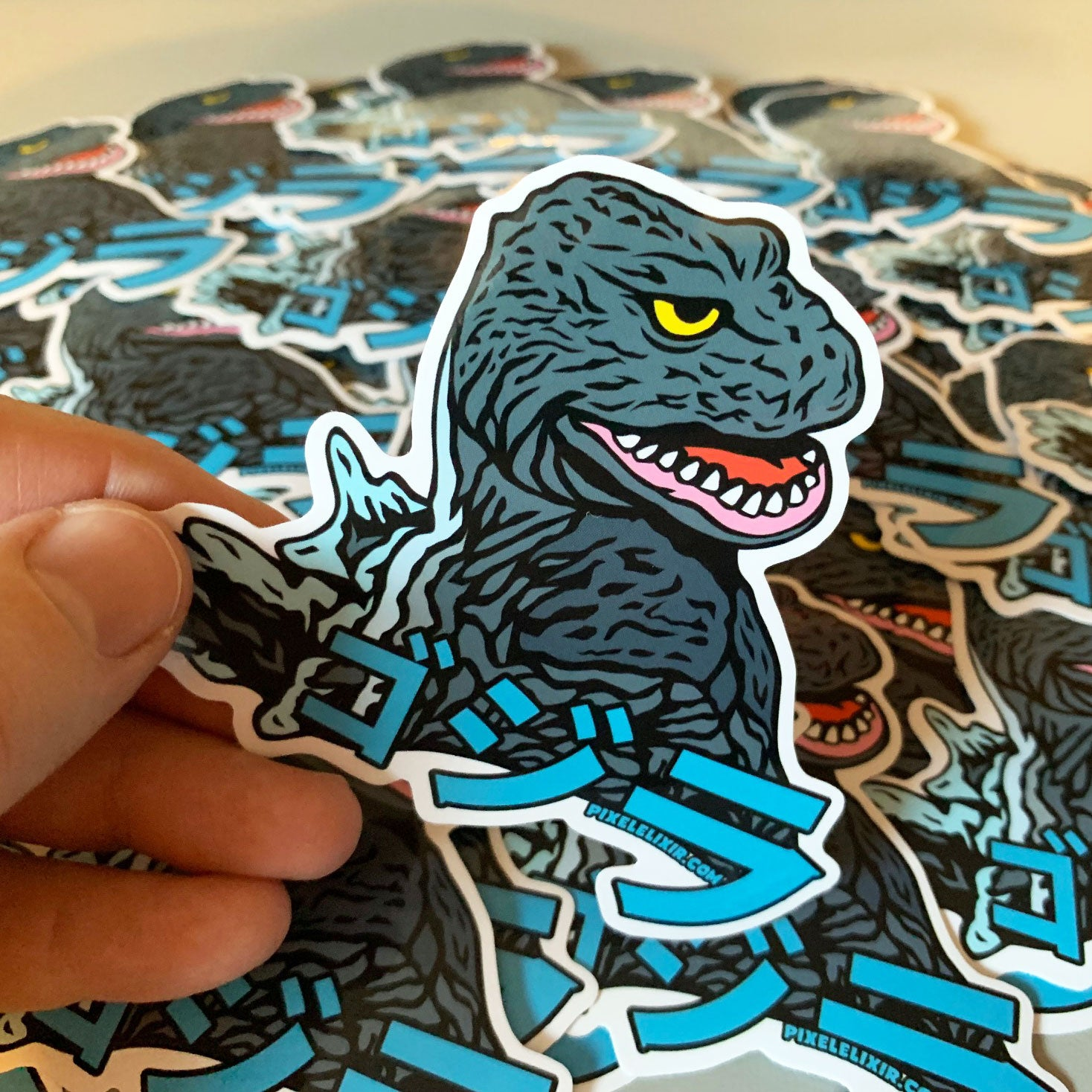 Kaiju '62 Vinyl Sticker - Dystopian Designs