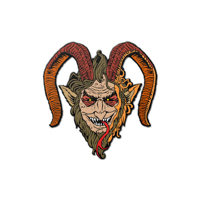 Krampus Enamel Pin - Dystopian Designs