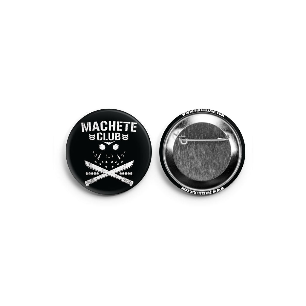 Machete Club Button - Dystopian Designs