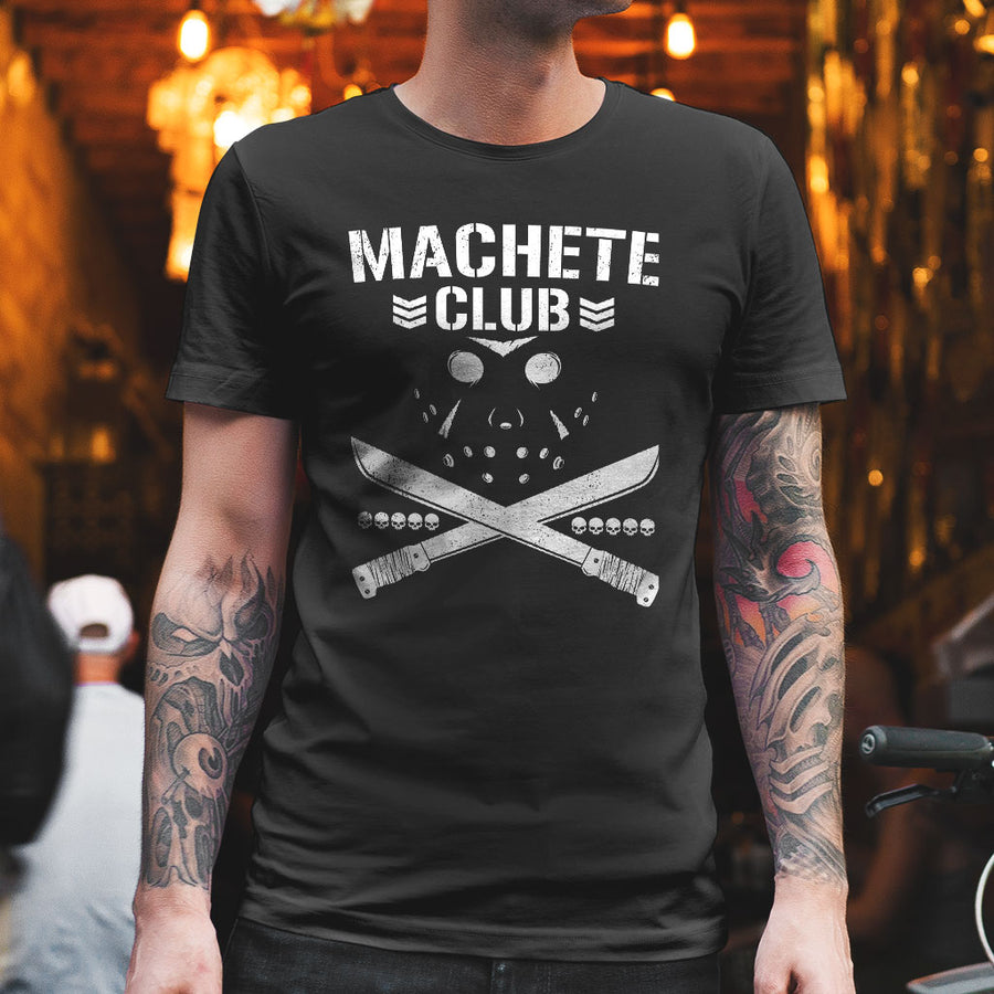 Friday the 13th Machete Club Bullet Club Parody T-Shirt