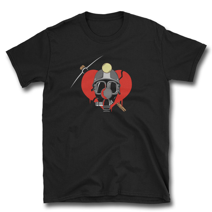 Deadly Valentine T-Shirt - Dystopian Designs